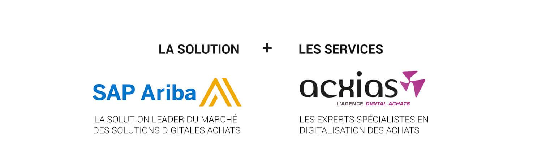 Solution sap ariba, acxias, projet digital achats, transformation digital des achats, solution pour les petites entreprises