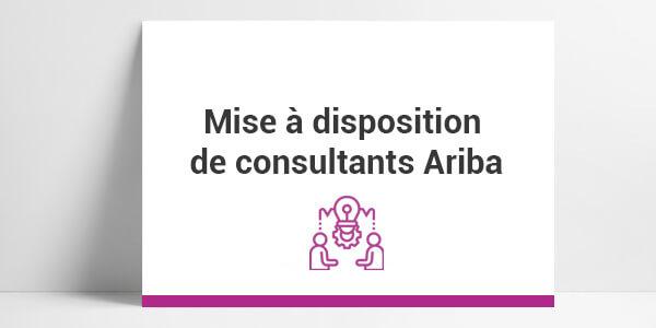 implémentation Ariba,consultants sap ariba, configuration sap ariba, paramétrage ariba, intégration ariba